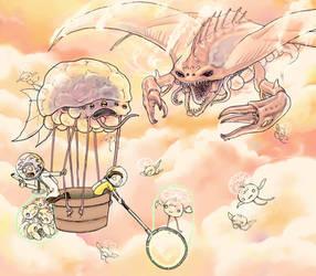 Jovian Rickventure by Banvivirie