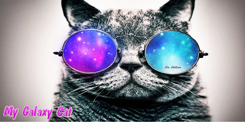 Galaxy Cat Wallpaper