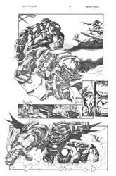JLA  and  SHIELD  page 4