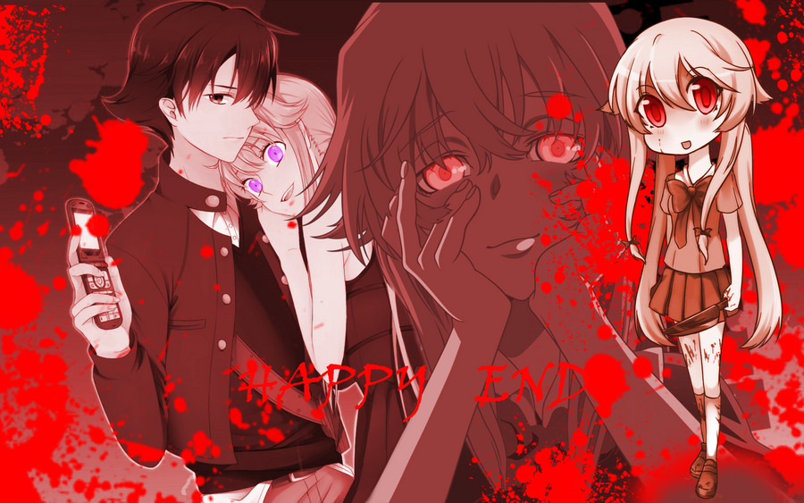 Mirai Nikki Collage by luckygirlmarina