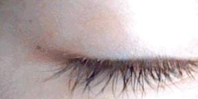 el ocio (?) resultado ojo morado xD gif by luckygirlmarina