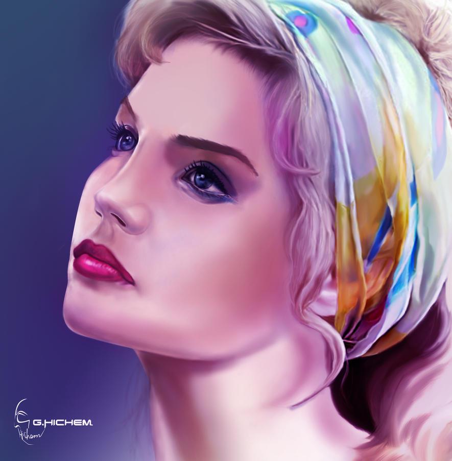 Lotus Girl by hguerfi