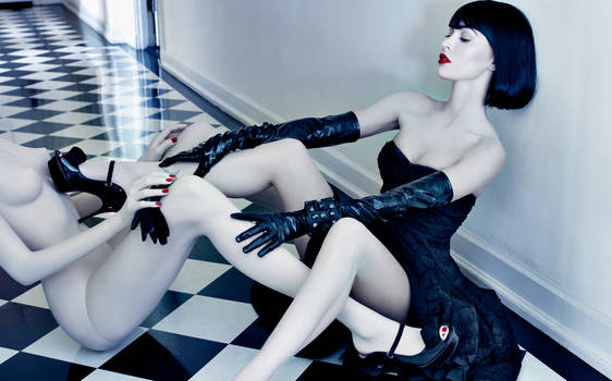 Megan_Fox_and Mannequin_5 by Webdoll