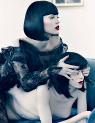 Megan_Fox_and_Mannequin_1 by Webdoll