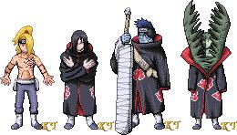 Random Akatsuki Sprites 2 by KingdomTriforce