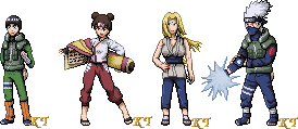 Shippuden Sprite Series2 by KingdomTriforce