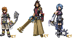 BbS Keyblade Warriors by KingdomTriforce
