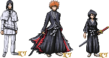 Bleach Sprite Series1 by KingdomTriforce