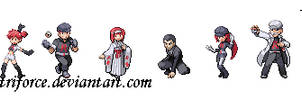 TeamRocket Kanto Gym Leaders