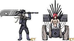 Shippuden Sprite Series8 by KingdomTriforce