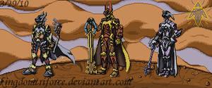 Keyblade Warriors Sprite Group
