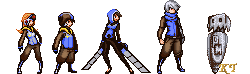 GDC Sprites by ShinySeabass