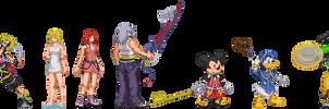 Kingdom Hearts 2.5 Sprites