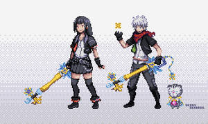 Kingdom Hearts Chi Sprites