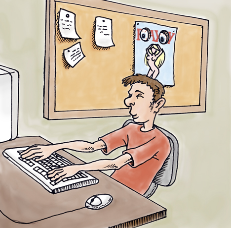Office espionage by monstara