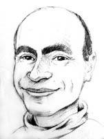 A cartoon of Ilya Vinkovetsky by monstara