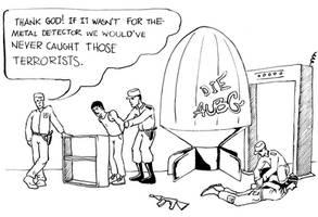 University security comic by monstara