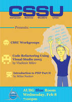 CSSU Poster 1 by monstara