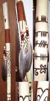 Druid Staff or Ogam Staff