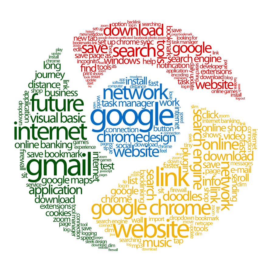 Google in Typography by 4minutesart