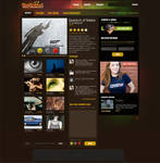 Colorful Video Themed Web Des
