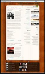 Cool Blog Design Pinkfloyd by PsdThemes