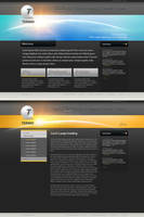 Sophisticated Dark Corporate by PsdThemes