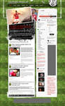Fantastic Soccer Blog Design