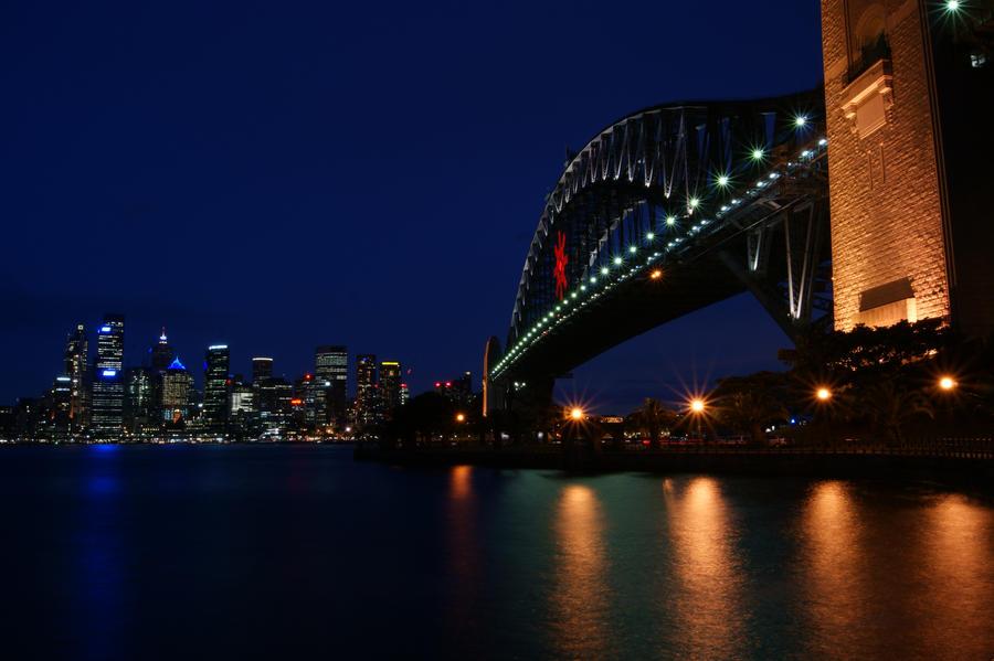 Sydney Harbour Bridge South Wales Australia wallpaper