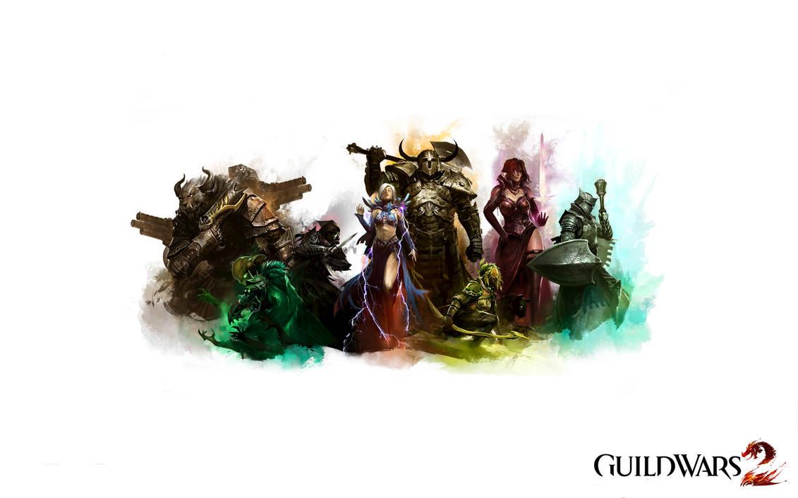 Guild Wars 2 Classes by IchLiebeAnime on DeviantArt