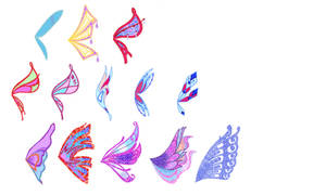 Chibi Collection Winx MUSA Wings Set
