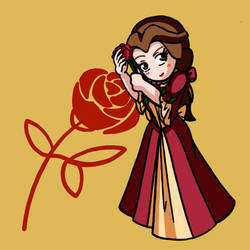 Chibi Collection Christmas Dress Belle