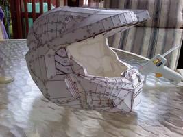 HD Halo Helmet Papercraft by ezaeth