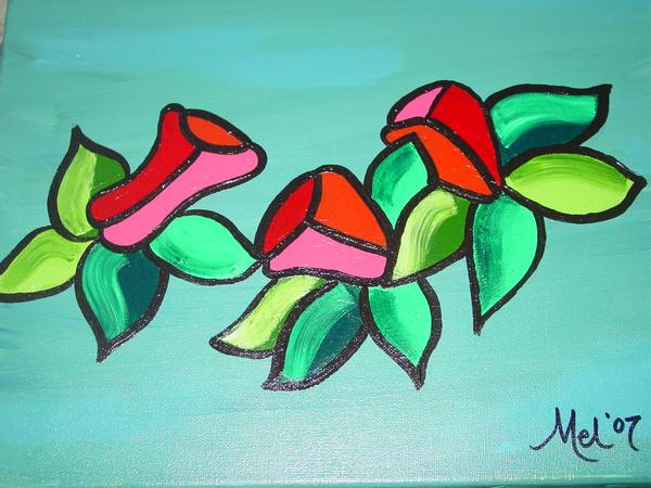 Diego's Flowers by myndiesue