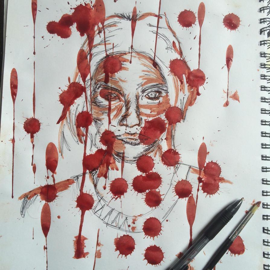 Blood women  by Nickking17
