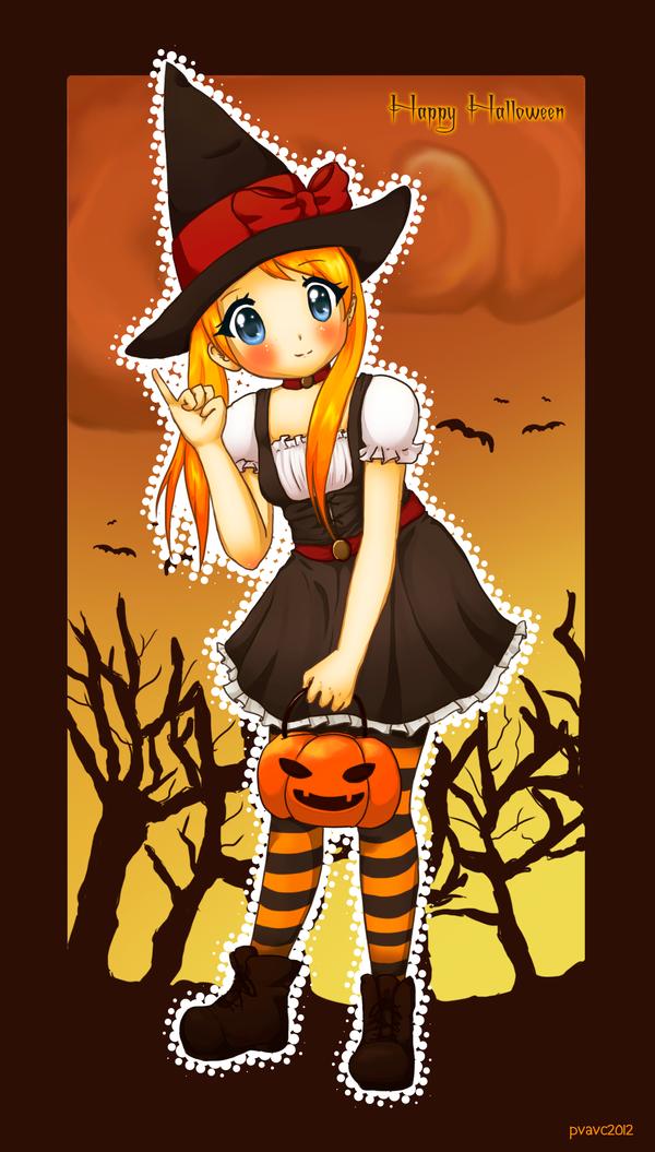 Happy Halloween 2012 by valeriachan