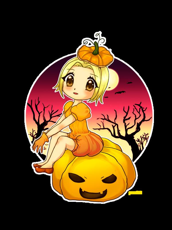 Ran-Ran Halloween by valeriachan