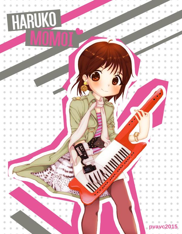 Haruko Momoi by valeriachan