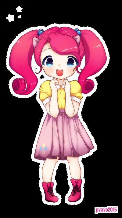 Pinkie Pie chibi by valeriachan