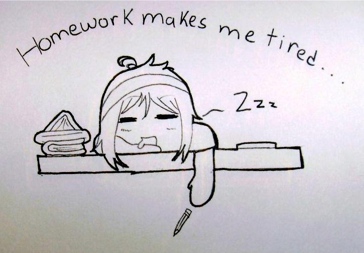 homework for me