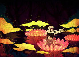 Lotus Forest by Toonikun