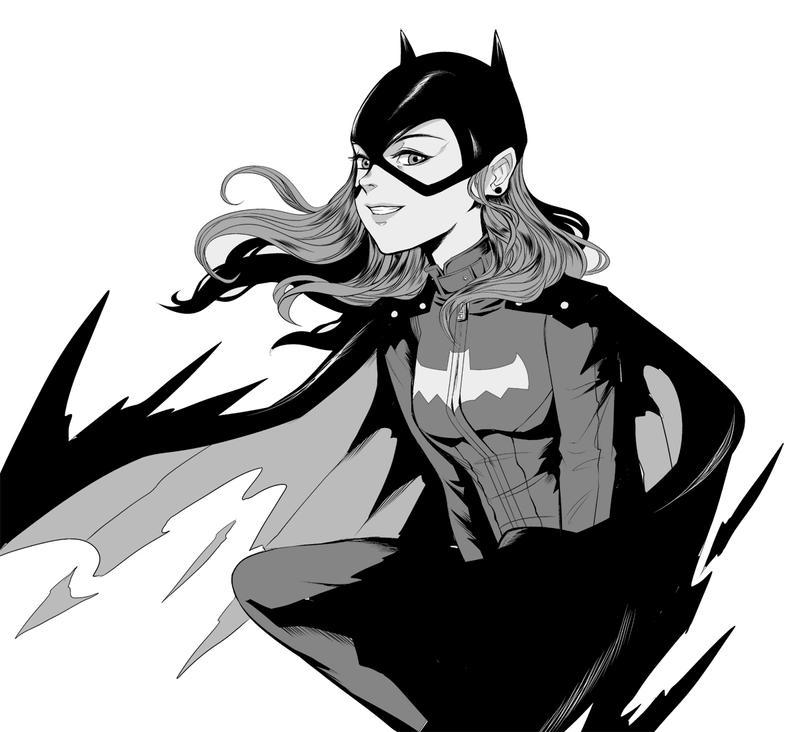 Batgirl by Toonikun