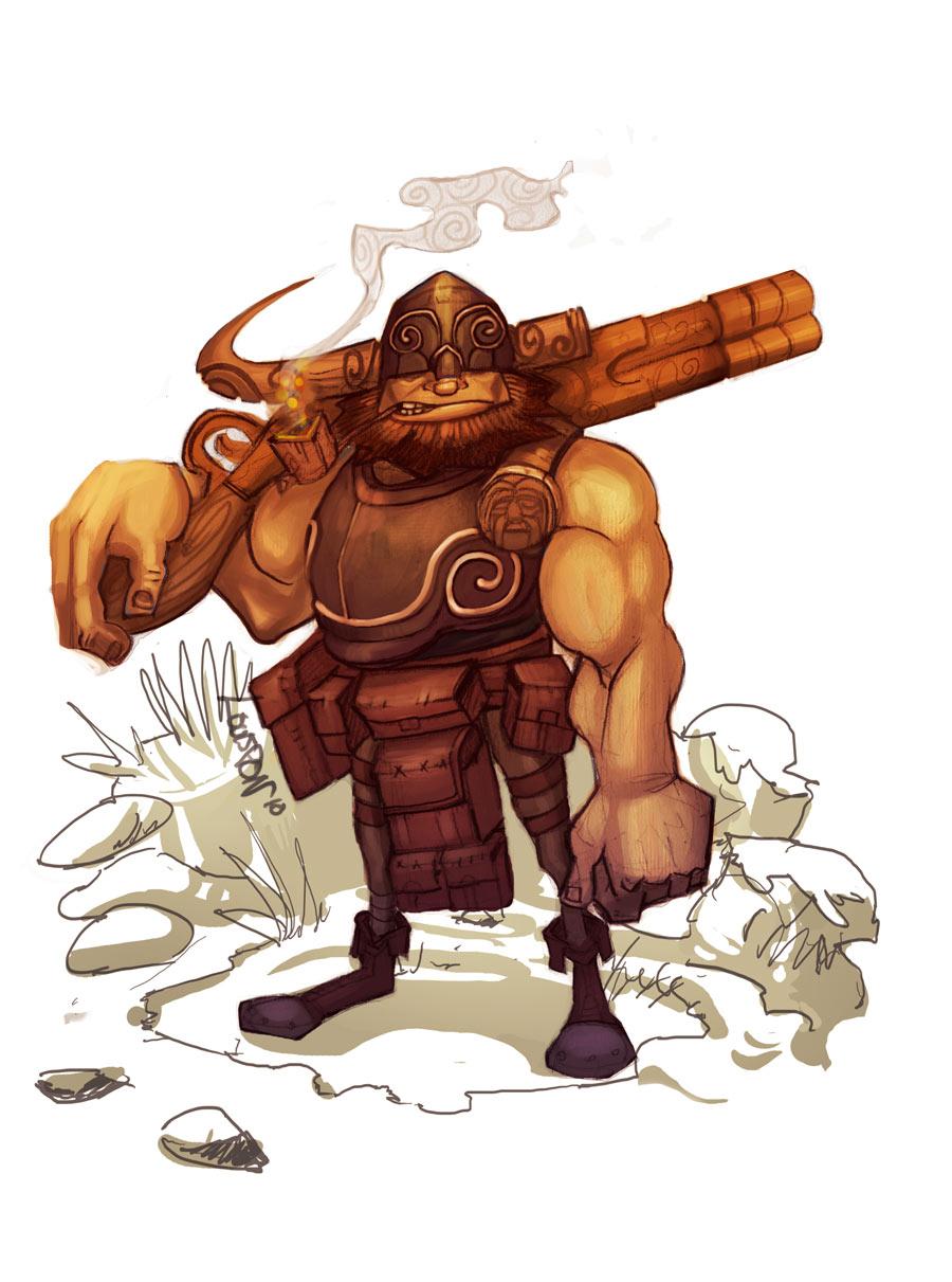 Warph the Dwarf by Beezul
