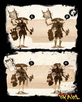 Steampunk Cowboy Yoshimitsu