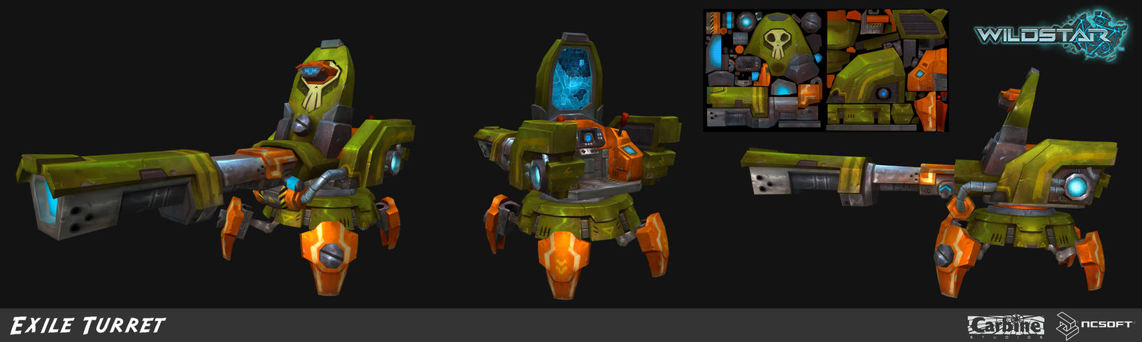 Wildstar Exile Turret by Beezul