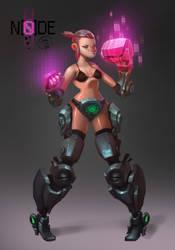 Punchgirl by Beezul