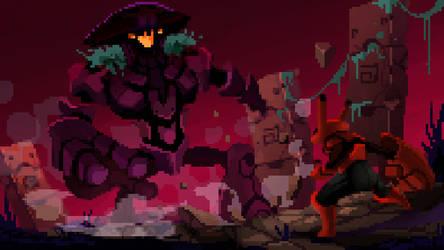 Fungus-boss-fight by Beezul