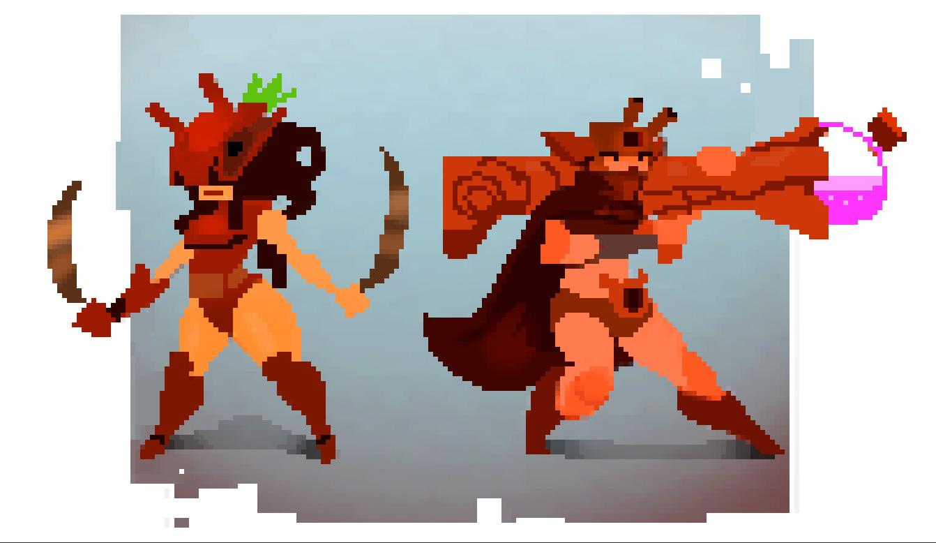 Pixel Character Design Tutorial : Twotreegirlspixel by beezul on deviantart