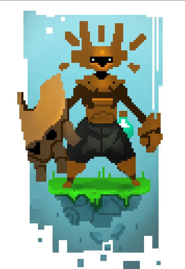 Pixel Art Character Design Tutorial : Bittreehero by beezul on deviantart