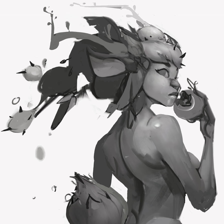 wip-fawn commission by Beezul